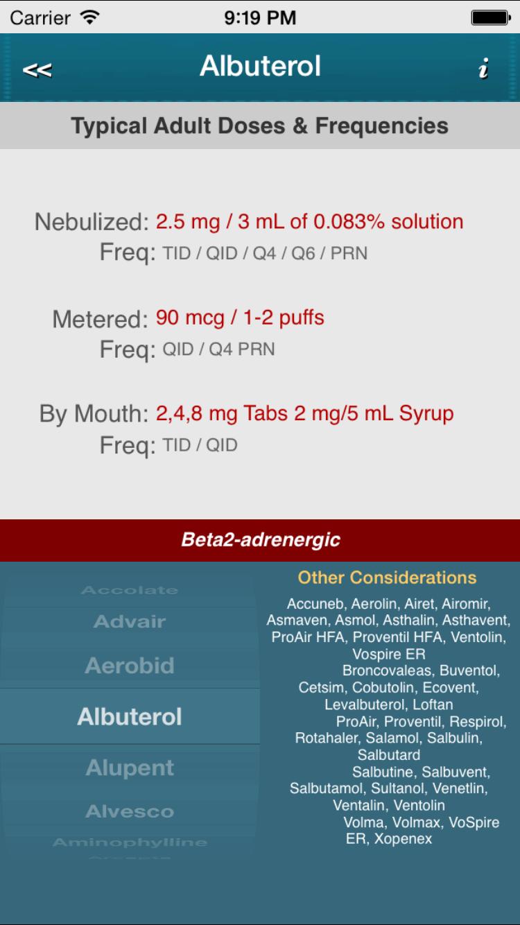proventil hfa inhaler